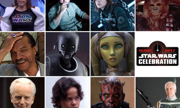 Obsada Star Wars Celebration 2017 rośnie w siłę
