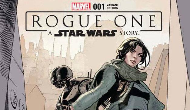 RECENZJA KOMIKSU – Rogue One Adaptation 001