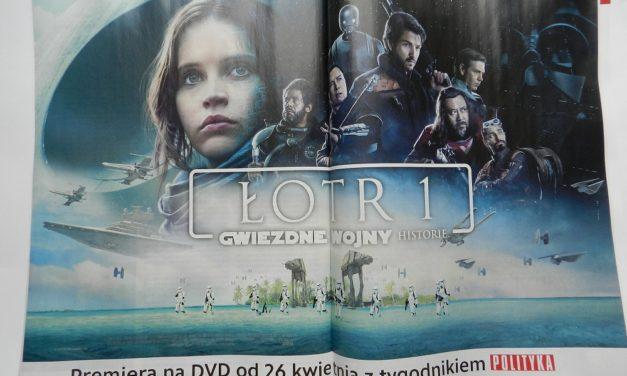 Łotr 1 na DVD w Polityce