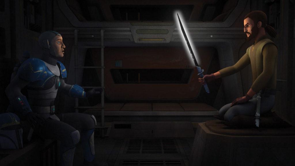 Próby Mrocznego miecza na Disney XD