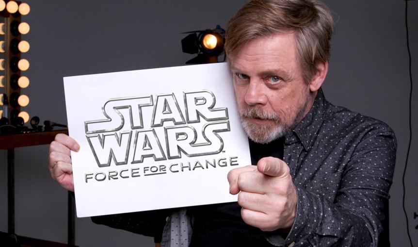 Daisy Ridley i Mark Hamill o nowej edycji Force for Change