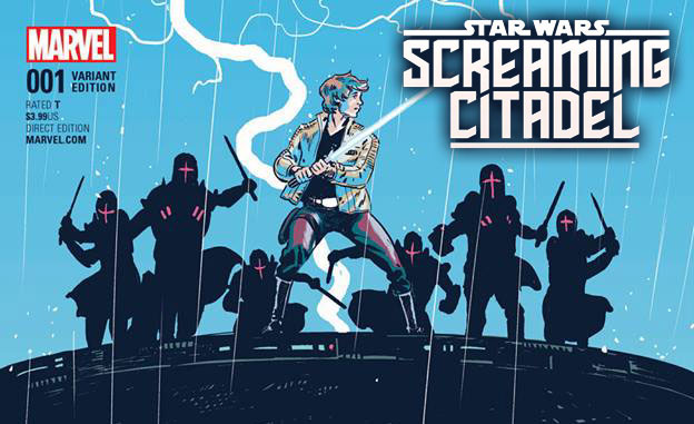 RECENZJA KOMIKSU – The Screaming Citadel 001