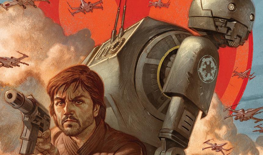 Cassian i K-2SO – nowy komiks o początkach tej dwójki!