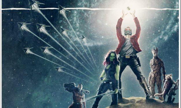 Strażnicy Galaktyki i ich plakaty w stylu Star Wars