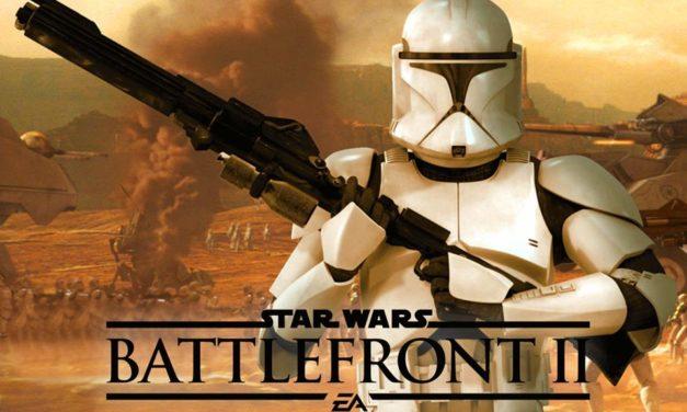 Klony w Star Wars: Battlefront 2 i fragment rozgrywki!