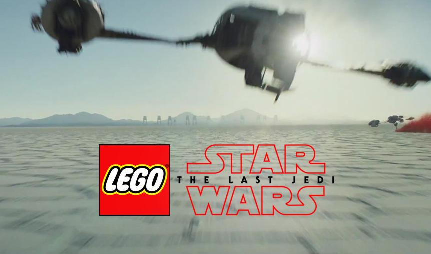 Wyciekły zdjęcia pierwszych zestawów Lego z Ostatnich Jedi!