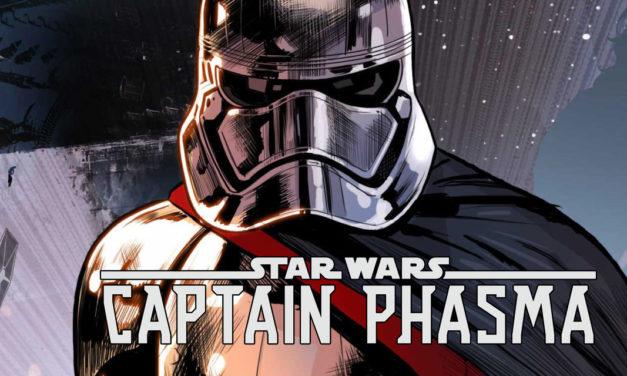 Zapowiedź oraz przedsmak komiksu Captain Phasma