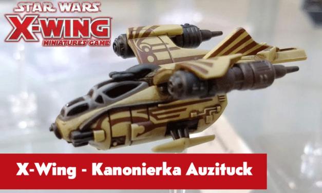 Kanonierka Auzituck – nowy statek do X-wing Minaitures już niedługo