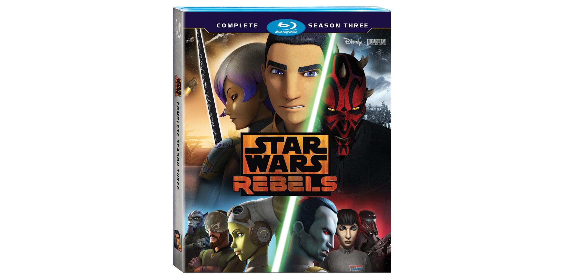 Trzeci Sezon Rebelianów Na Dvd I Blu Ray Znamy Datę