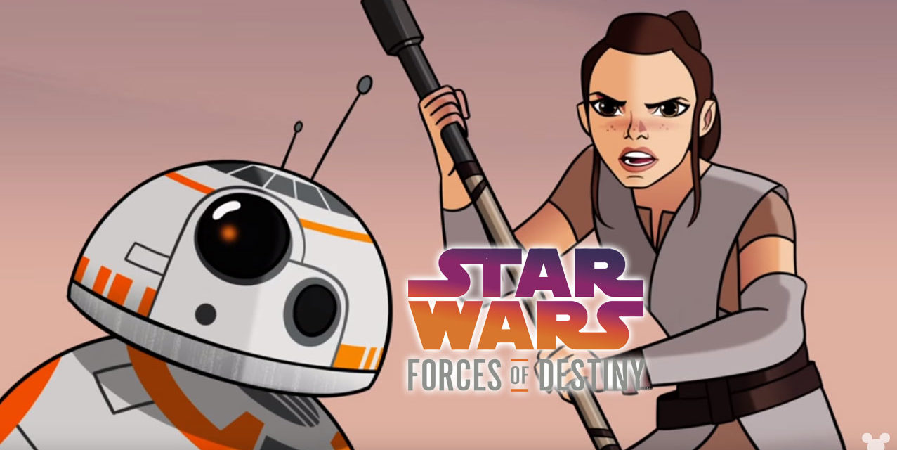 Forces of Destiny odcinek 1 – Piaski Jakku