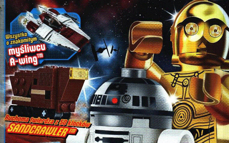 Lipcowy numer magazynu LEGO Star Wars