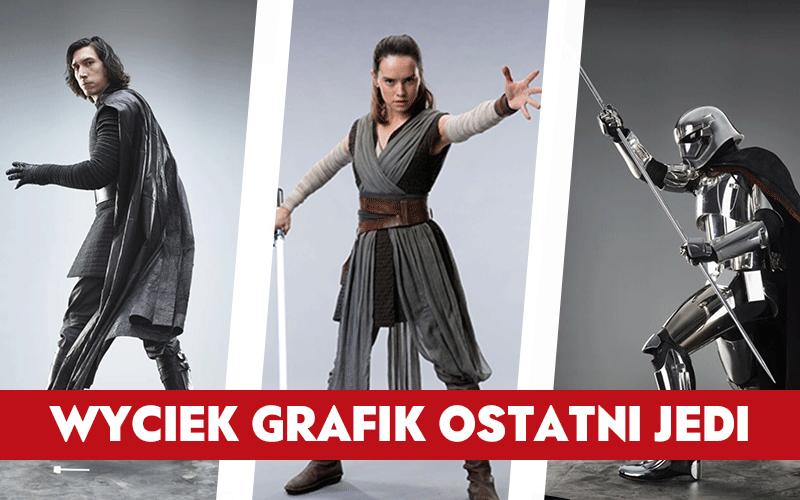 NEWS – Wyciekły grafiki promocyjne Ostatniego Jedi!