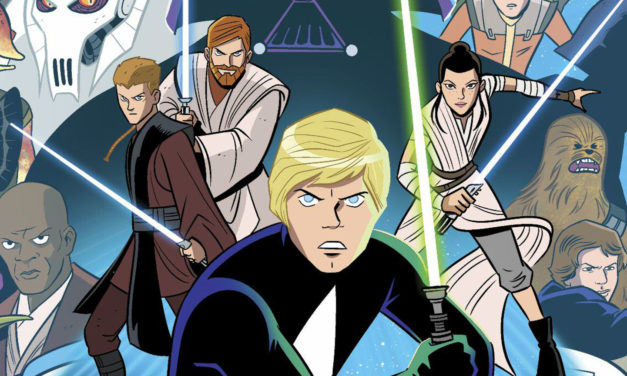 Rzut oka na STAR WARS ADVENTURES od IDW