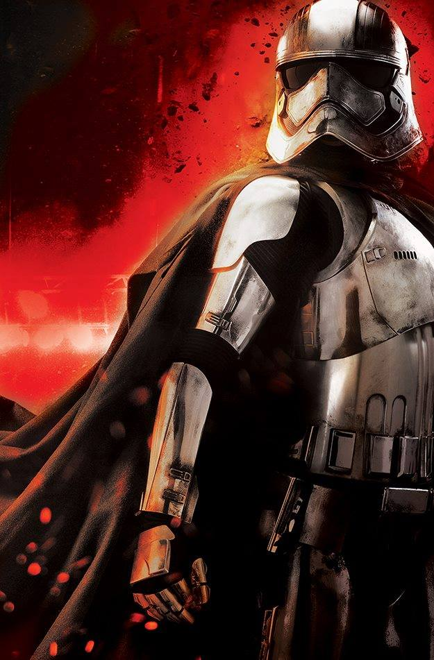 Wyjątkowe plakaty książki Star Wars Phasma