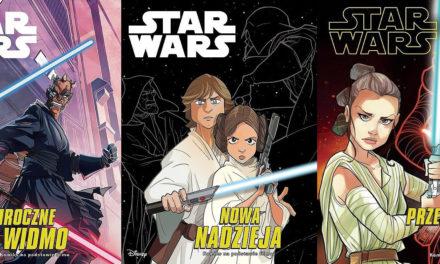 Komiksowe adaptacje filmów STAR WARS od listopada