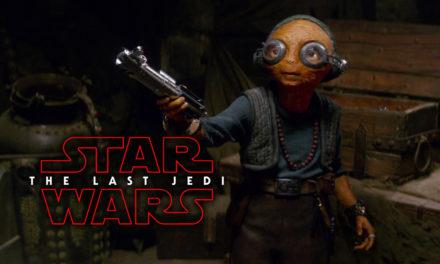 Szczegóły roli Maz Kanaty w The Last Jedi