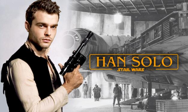 Rzut oka na plan filmu o Hanie Solo