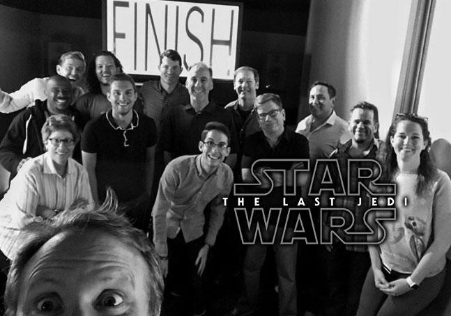 Rian Johnson zakończył prace nad Ostatnim Jedi