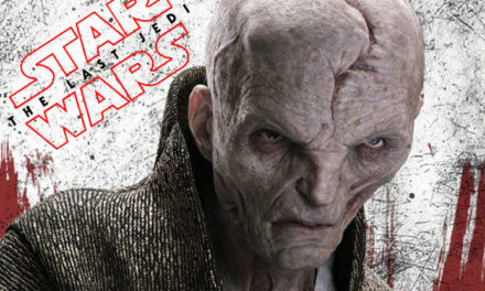 Nowe zdjęcie Snoke'a oraz zarys fabuły Ostatniego Jedi