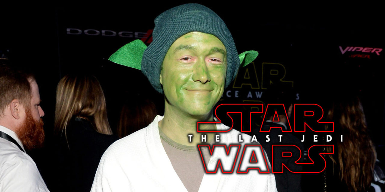 Joseph Gordon-Levitt w Ostatnim Jedi