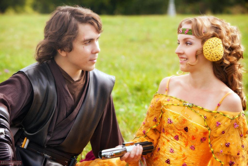 Anakin, Padme i mecz świetlny