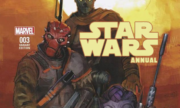 RECENZJA KOMIKSU – Star Wars Annual 003
