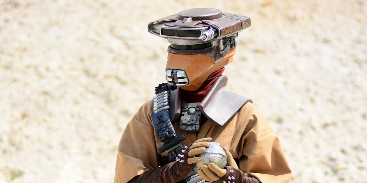 Cosplay tygodnia: Leia jako Boushh z Powrotu Jedi