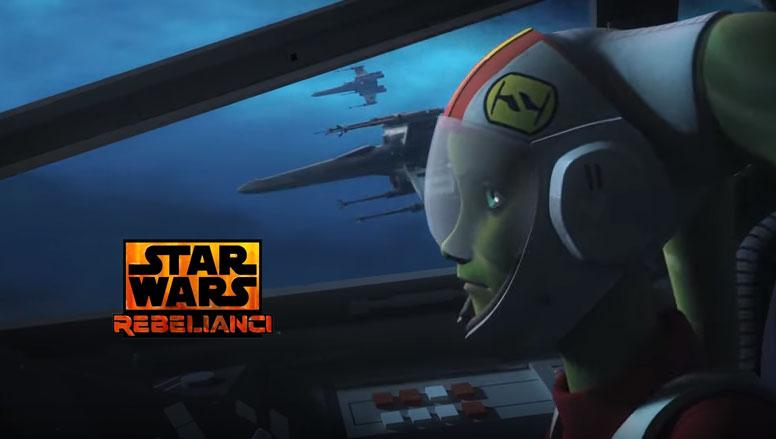 Szturm myśliwców w zapowiedzi kolejnego odcinka Rebeliantów