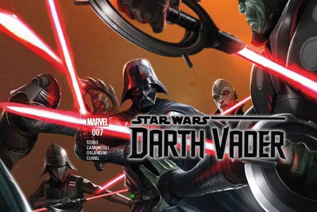 RECENZJA KOMIKSU – Darth Vader (2017) 007