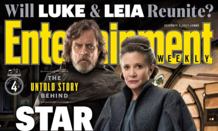 Ostatni Jedi na stronach Entertainment Weekly