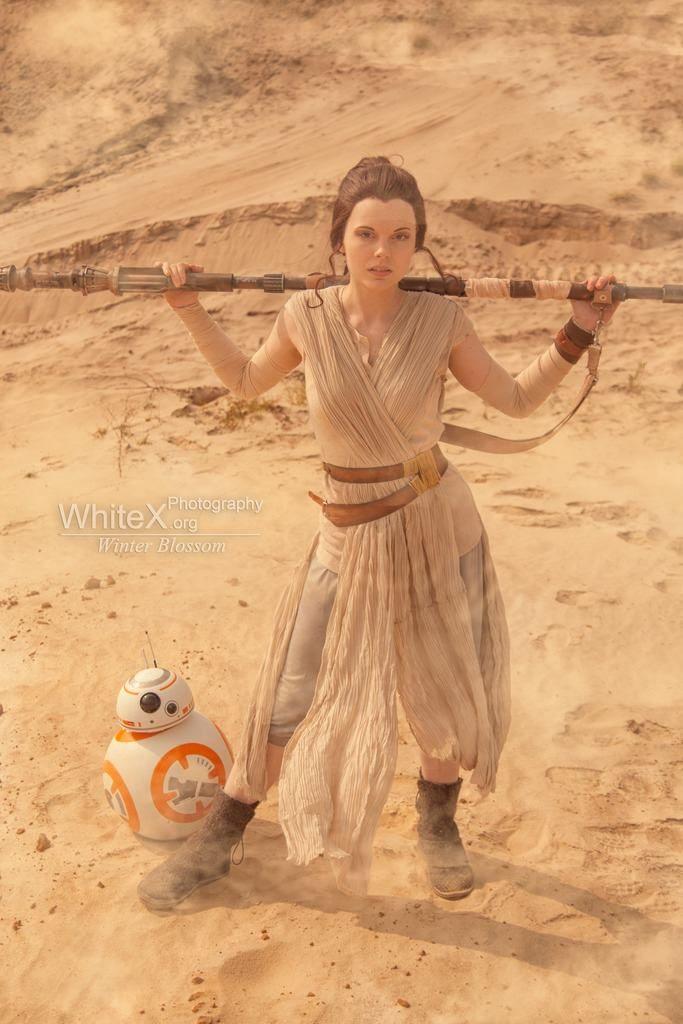 Rey z BB-8