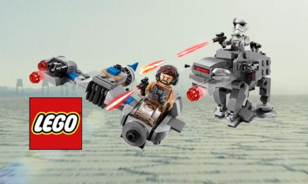 Mikromyśliwce LEGO z Ostatniego Jedi