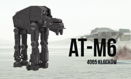 Ogromny AT-M6 LEGO UCS – rozmawiamy z autorem Michałem Kozłowskim