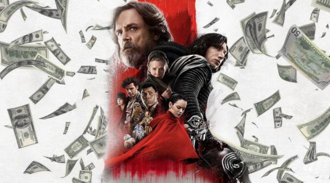 Ostatni Jedi bliski rekordu w box office
