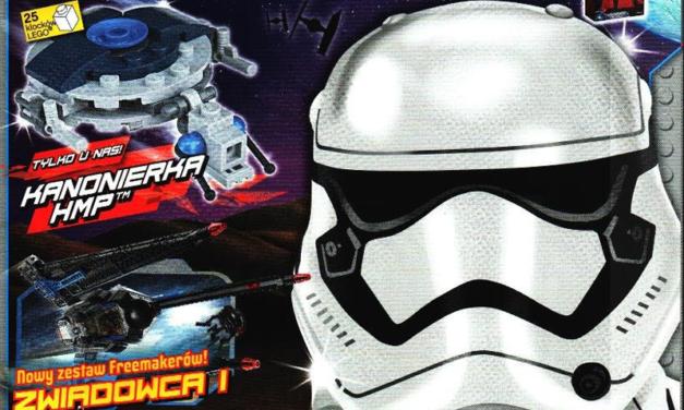 Listopadowy numer magazynu LEGO Star Wars