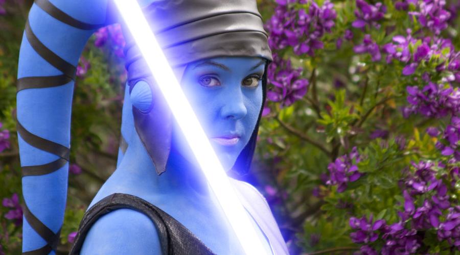 Mistrzyni Jedi Aayla Secura | Cosplay tygodnia