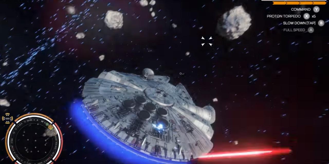 Zobaczcie jak mogła wyglądać nowa wersja gry X-Wing