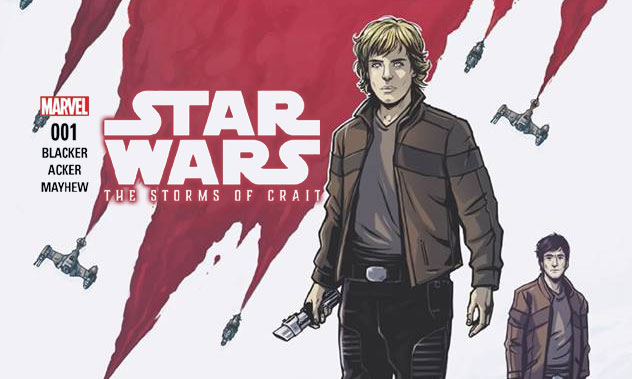 RECENZJA KOMIKSU – Storms of Crait 001