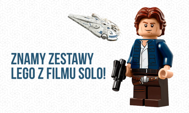 Wyciekły nowe zestawy LEGO z filmu o Solo i nie tylko!