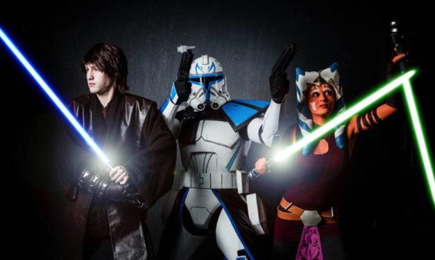 Anakin Skywalker, Ahsoka Tano i kapitan Rex | Cosplay tygodnia