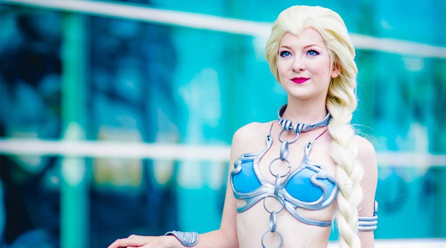 Niewolnica Elsa | Mashup cosplay