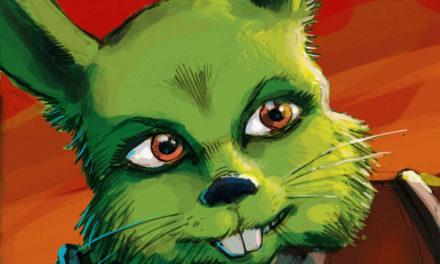 Legendarny zielony królik Jaxxon wraca do kanonu!