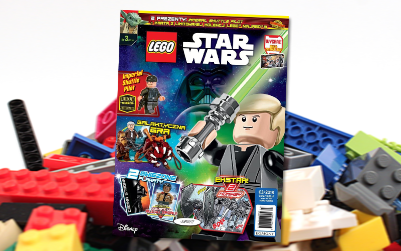 Magazyn Lego Star Wars 032018 Starwarspl