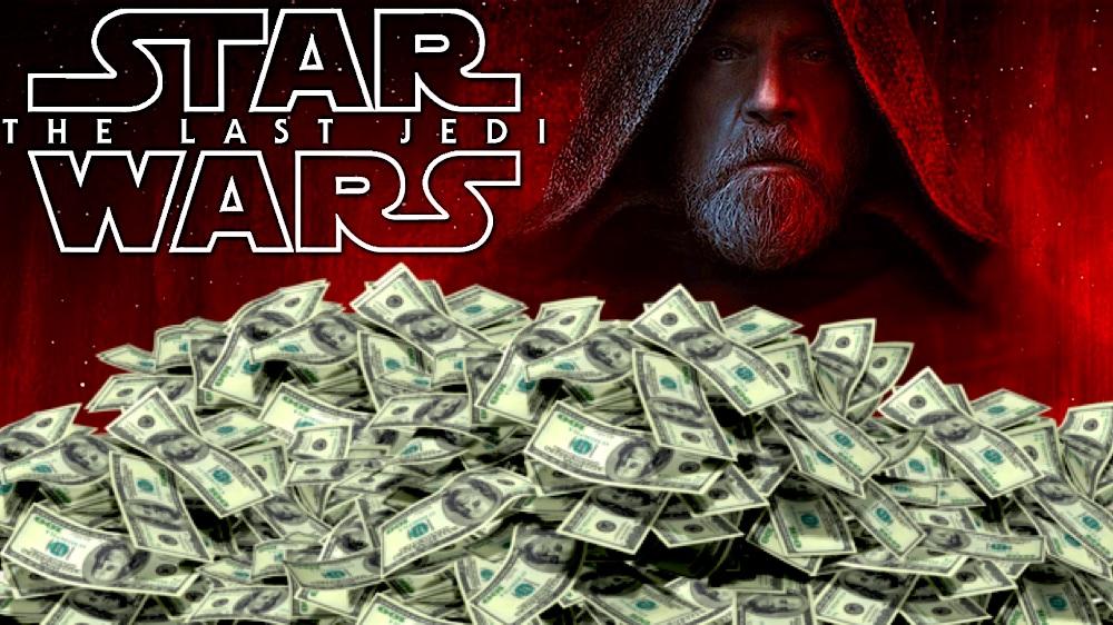 """""""Ostatni Jedi"""" najbardziej dochodowym filmem 2017 roku"""