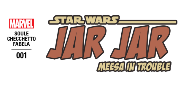 PRIMA APRILIS | Zapowiedziano nowy komiks o przygodach Jar Jar Binksa