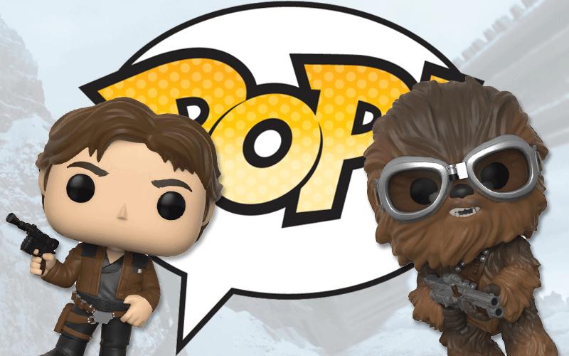 "Figurki Funko z filmu ""Han Solo"""