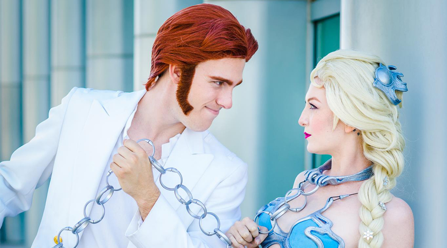 Hans Solo i niewolnica Elsa | Mashup cosplay