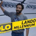 "Donald ""Lando"" Glover oprowadza nas po Sokole Millennium"