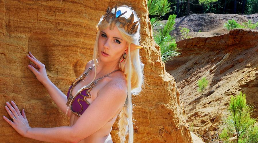Niewolnica Zelda | Mashup cosplay