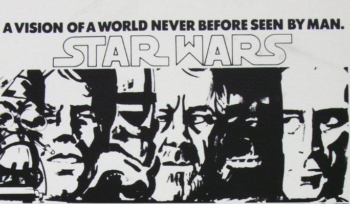 Niezwykłe plakaty koncepcyjne Nowej Nadziei